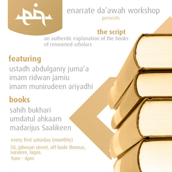 enDA'AWAH MONTHLY WORKSHOP